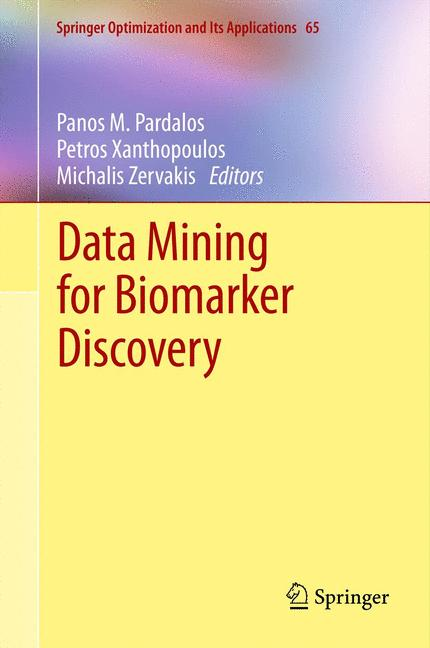 Cover of 'Data Mining for Biomarker Discovery'
