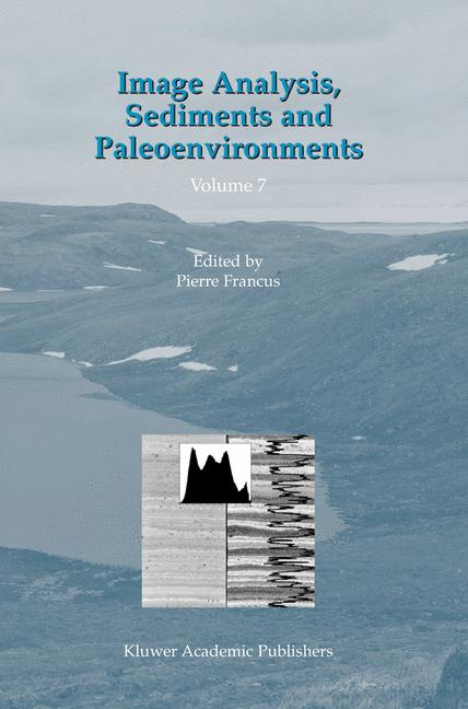 Cover of 'Image Analysis, Sediments and Paleoenvironments'