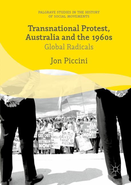 Cover of 'Transnational Protest, Australia and the 1960s'