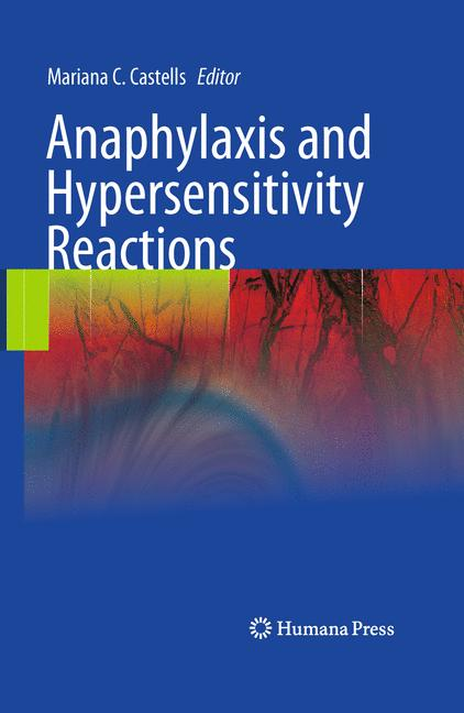 Cover of 'Anaphylaxis and Hypersensitivity Reactions'