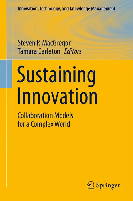 Cover of 'Sustaining Innovation'