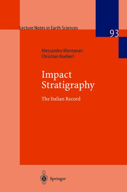 Cover of 'Impact stratigraphy : the Italian record'