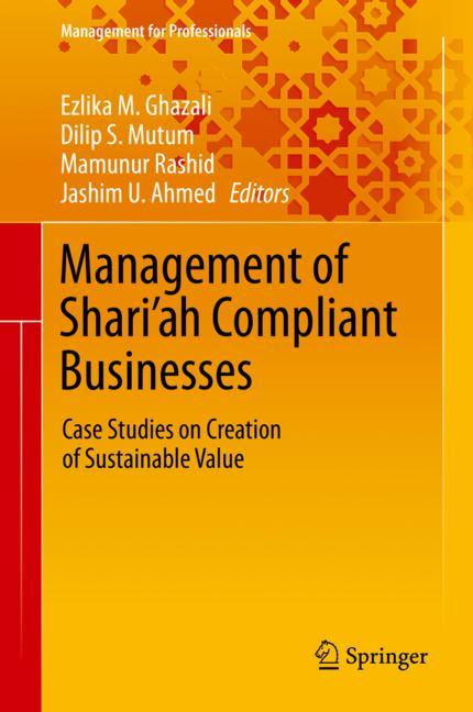 Cover of 'Management of Shari'ah Compliant Businesses'