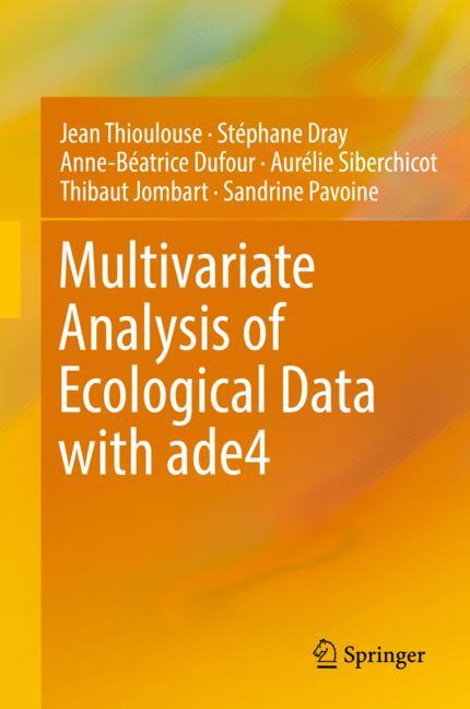 Cover of 'Multivariate Analysis of Ecological Data with ade4'