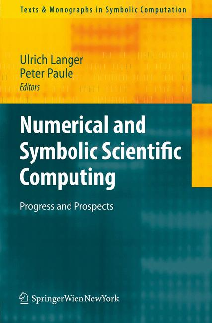 Cover of 'Numerical and Symbolic Scientific Computing'