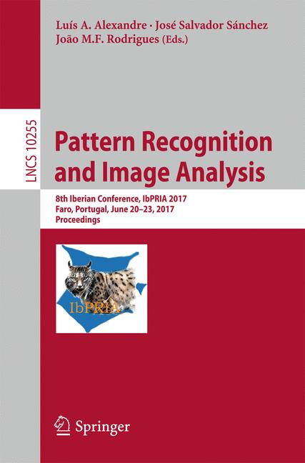 Cover of 'Pattern Recognition and Image Analysis'