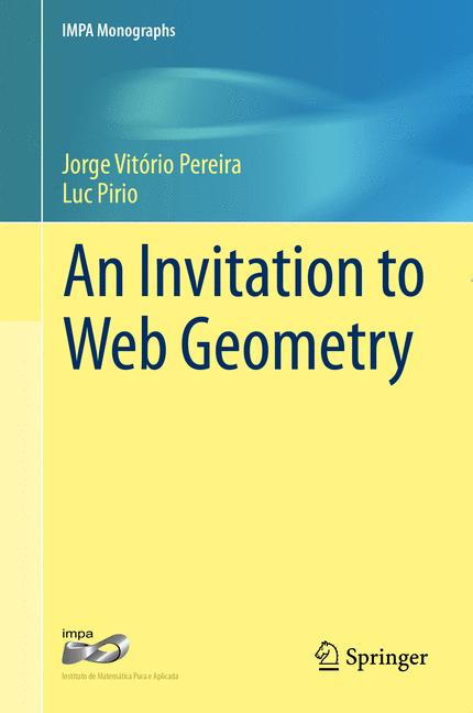 Cover of 'An Invitation to Web Geometry'