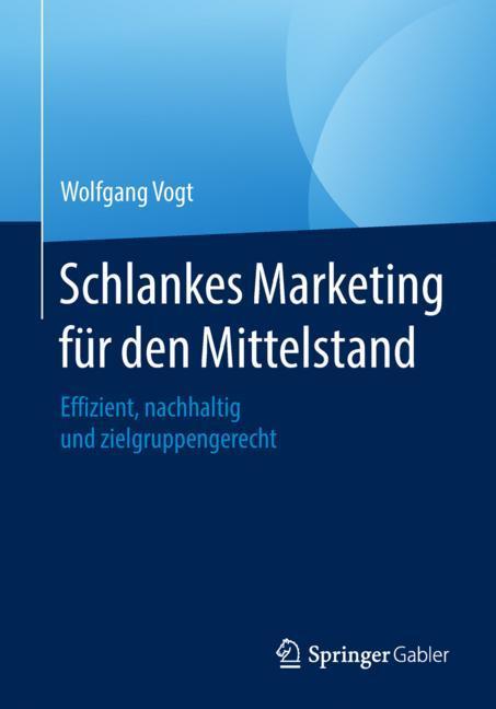 Cover of 'Schlankes Marketing für den Mittelstand'