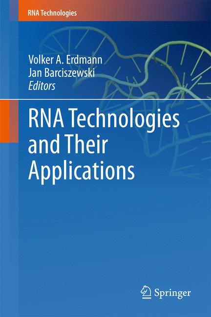 Cover of 'RNA Technologies and Their Applications'