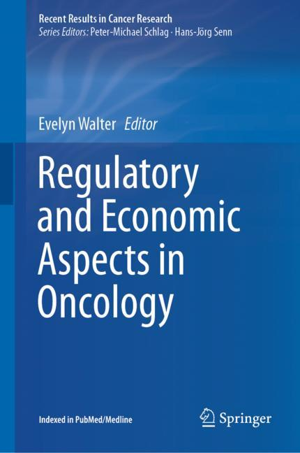 Cover of 'Regulatory and Economic Aspects in Oncology'