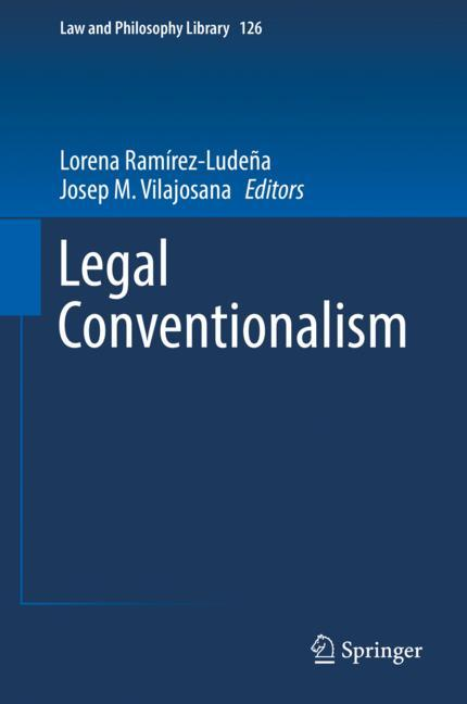 Cover of 'Legal Conventionalism'