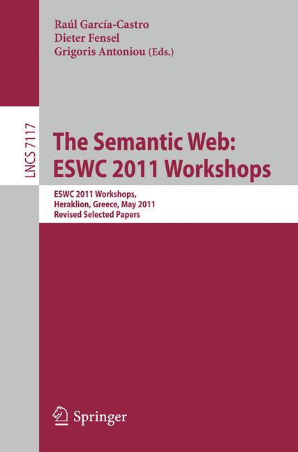 Cover of 'The Semantic Web: ESWC 2011 Workshops'