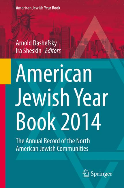 Cover of 'American Jewish Year Book 2014 : The Annual Record of the North American Jewish Communities'