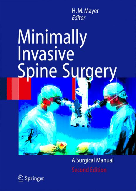 Cover of 'Minimally Invasive Spine Surgery'