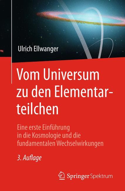 Cover of 'Vom Universum zu den Elementarteilchen'