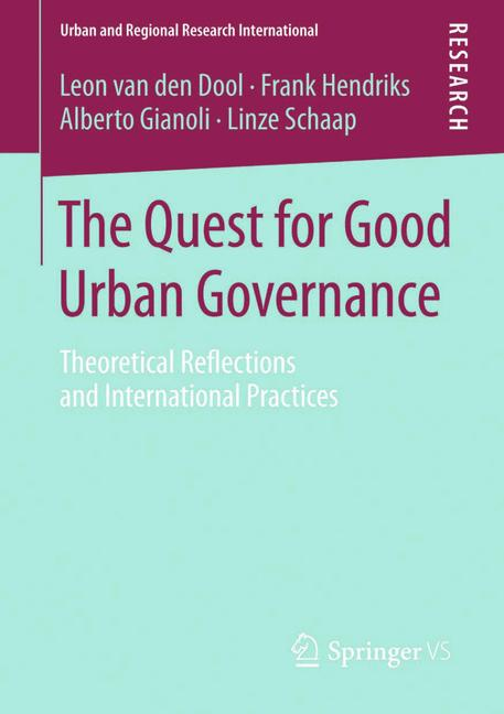 Cover of 'The Quest for Good Urban Governance'