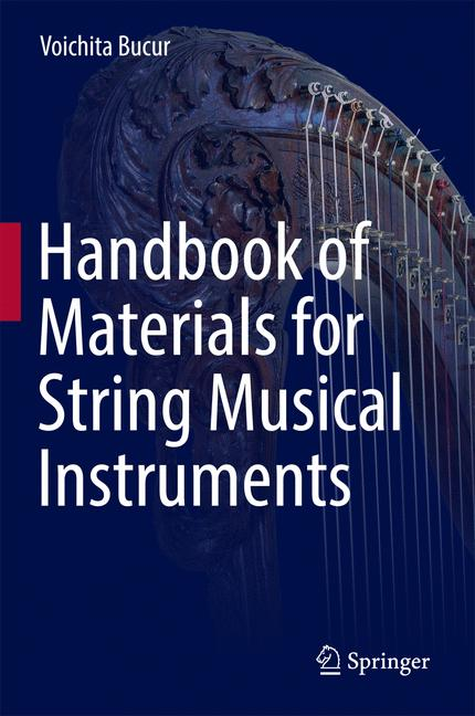 Cover of 'Handbook of Materials for String Musical Instruments'