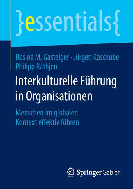 Cover of 'Interkulturelle Führung in Organisationen'