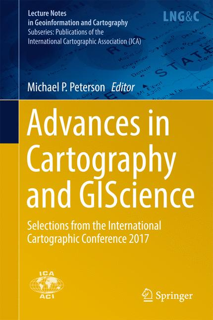 Cover of 'Advances in Cartography and GIScience'