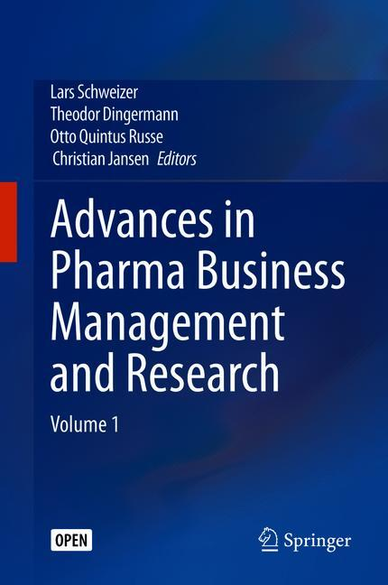 Cover of 'Advances in Pharma Business Management and Research'