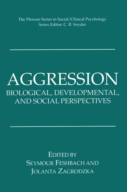 Cover of 'Aggression'