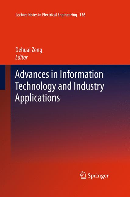 Cover of 'Advances in Information Technology and Industry Applications'