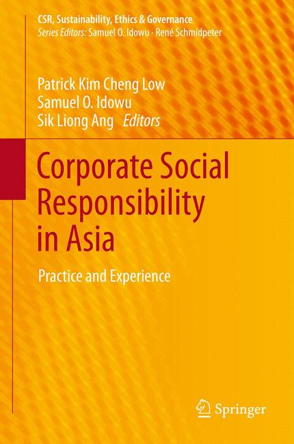 Cover of 'Corporate Social Responsibility in Asia'