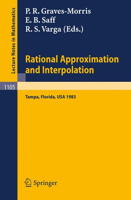 Cover of 'Rational Approximation and Interpolation'