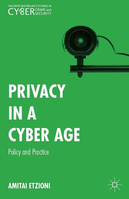 Cover of 'Privacy in a Cyber Age'