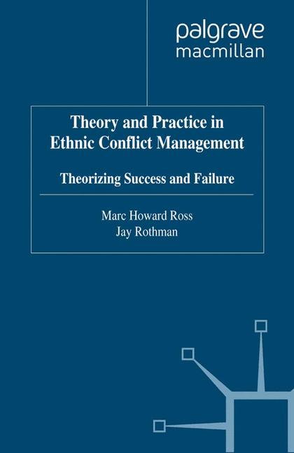 Cover of 'Theory and Practice in Ethnic Conflict Management'