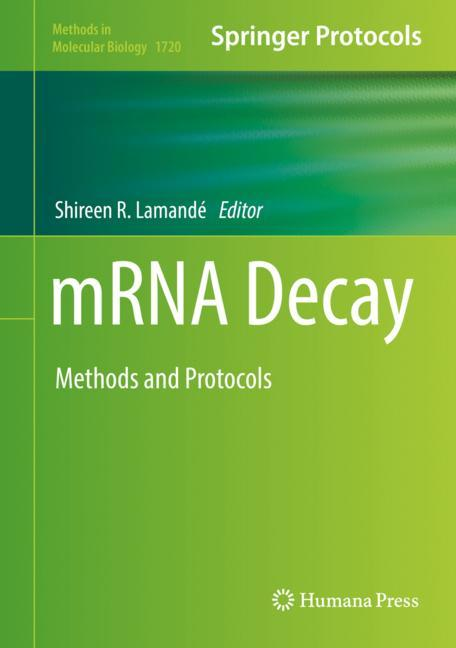 Cover of 'mRNA Decay'