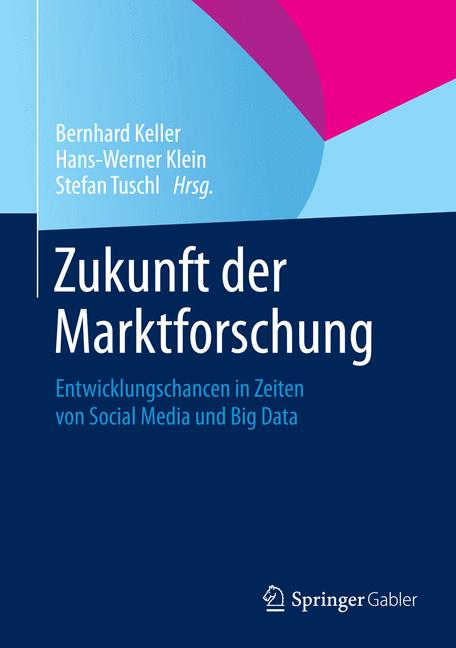 Cover of 'Zukunft der Marktforschung'