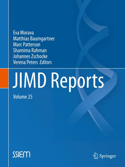 Cover of 'JIMD Reports, Volume 25'