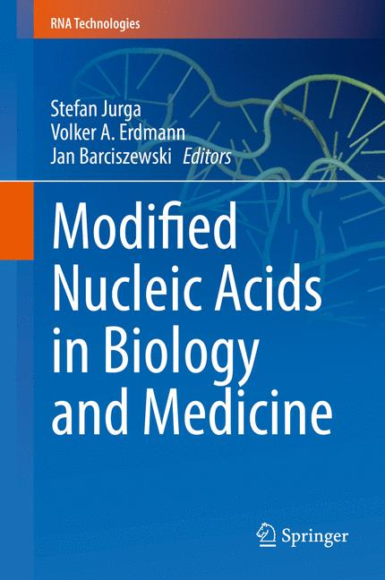 Cover of 'Modified Nucleic Acids in Biology and Medicine'