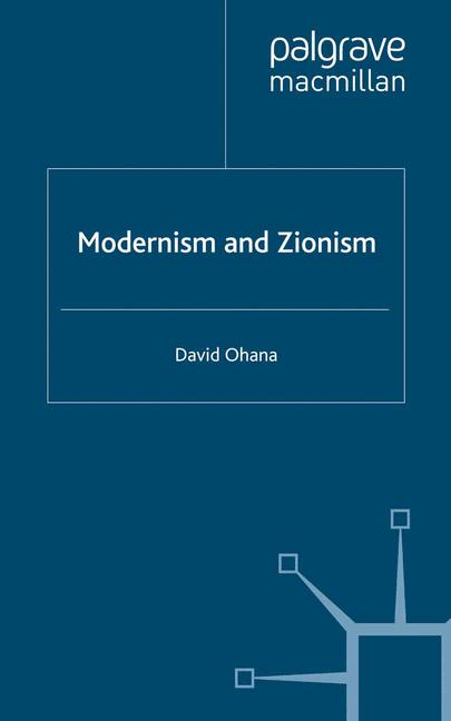 Cover of 'Modernism and Zionism'