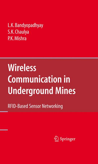 Cover of 'Wireless Communication in Underground Mines'