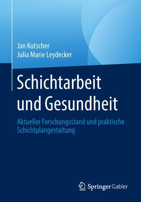 Cover of 'Schichtarbeit und Gesundheit'