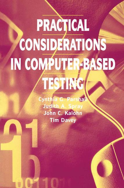 Cover of 'Practical Considerations in Computer-Based Testing'