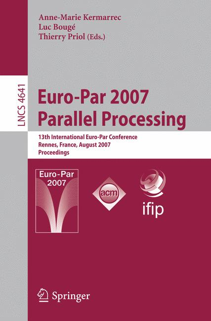 Cover of 'Euro-Par 2007 Parallel Processing'