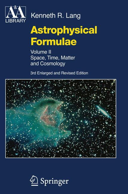 Cover of 'Astrophysical Formulae : Space, Time, Matter and Cosmology'