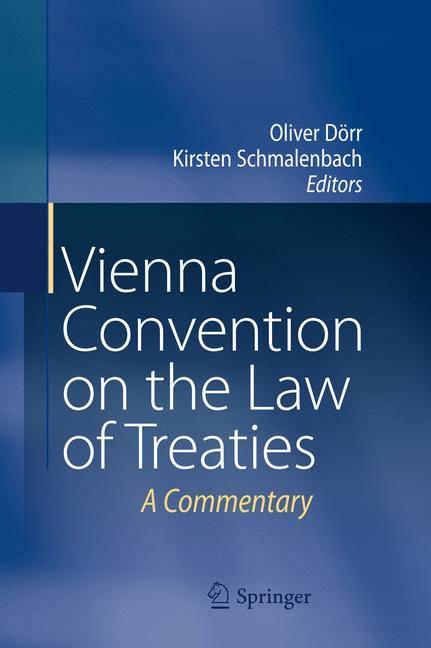 Cover of 'Vienna Convention on the Law of Treaties'