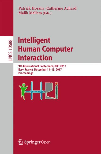 Cover of 'Intelligent Human Computer Interaction'
