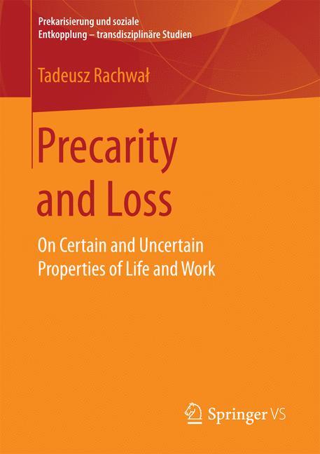 Cover of 'Precarity and Loss'