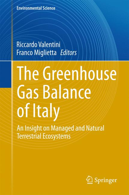 Cover of 'The Greenhouse Gas Balance of Italy'