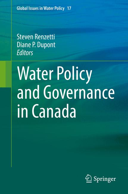 Cover of 'Water Policy and Governance in Canada'