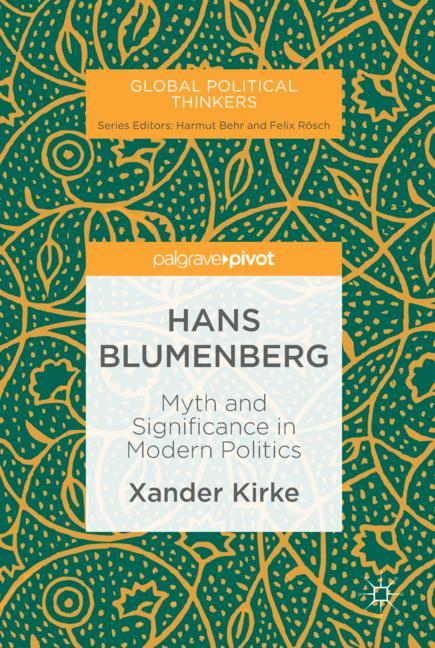 Cover of 'Hans Blumenberg'