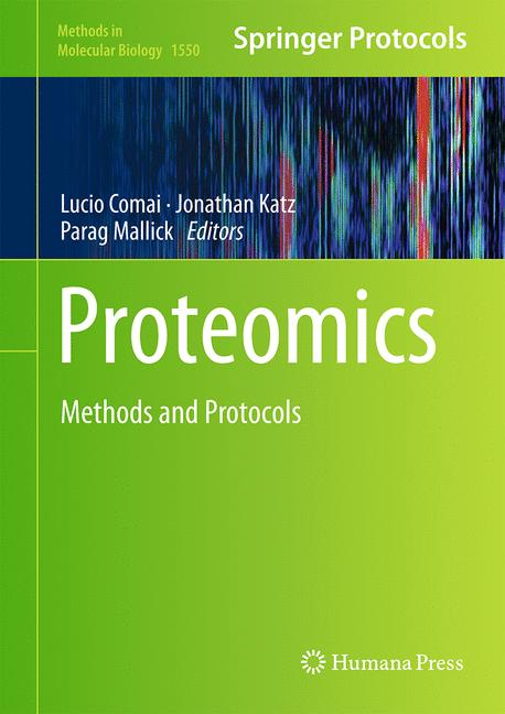 Cover of 'Proteomics'