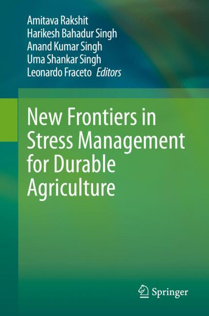 Cover of 'New Frontiers in Stress Management for Durable Agriculture'
