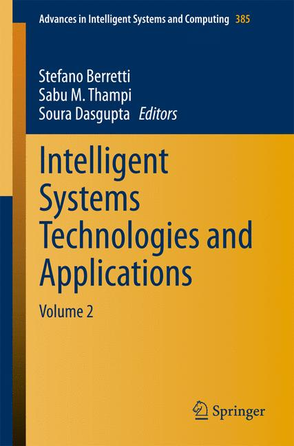 Cover of 'Intelligent Systems Technologies and Applications'