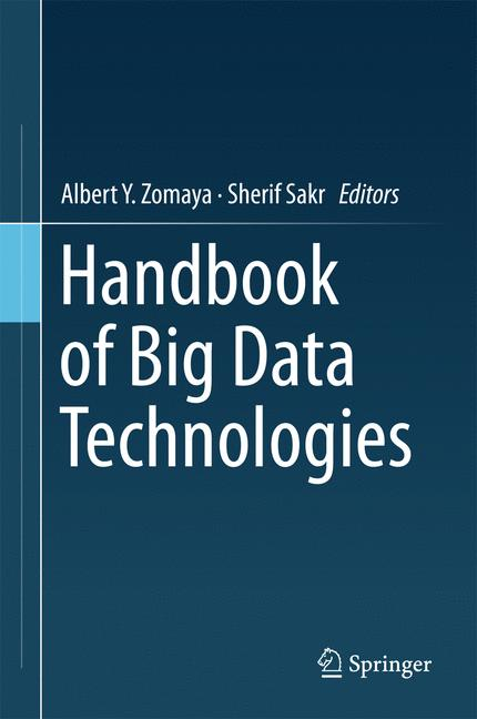Cover of 'Handbook of Big Data Technologies'